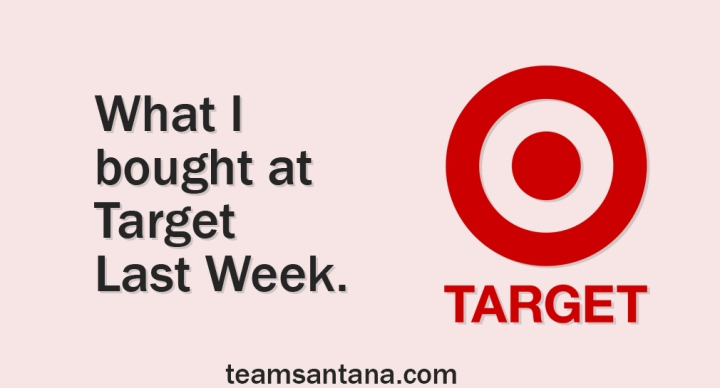 What I Bought at Target : July 2019